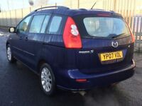 2007 MAZDA 5 * 1 .8 PETROL * 7 SEATER * S/HISTORY * PART EX * DELIVERY * NOT ZAFIRA TOURAN SCENIC *
