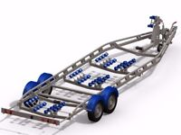 Boat Trailers. Biggest range available in the UK (5 makes) 5 star rated, Snipe Bramber, Rapide etc