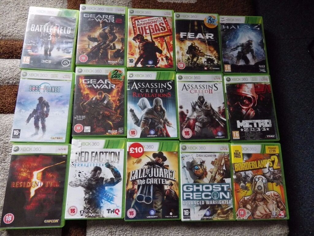 Classic Xbox 360 Games 163 3 Each Sold Seperate In