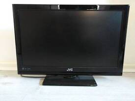 "JVC 24"" Led TV for parts or repair"