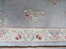 QUALITY CHINESE RUG - 6 ft X 4 ft