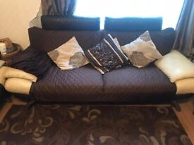 8seater pure leather sofas
