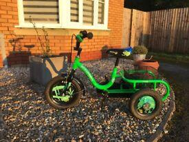 Child's 12inch Trike/Bike