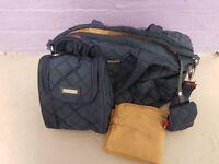 Storksak Bobby Changing Bag, Navy