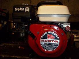 2KW (240V ONLY) GENUINE HONDA 4 STROKE PETROL GENERATOR,WITH LOW OIL AUTOMATIC SHUTDOWN