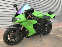 Kawasaki ZX10R e8f low miles full history loads of extras!