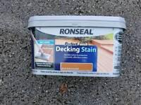 Ronseal decking stain