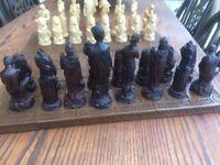 Greek Roman Chess Set