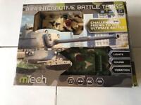 RC mini interactive battle tanks