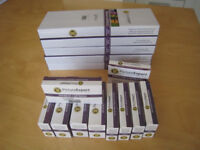 Brand new compatible ink cartridges for Canon Pixma printers.