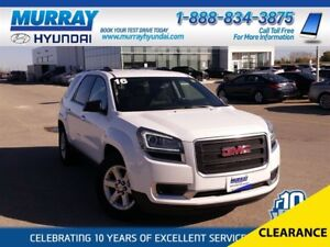 2016 GMC Acadia SLE-1 with Bluetooth