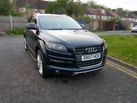 2007 Audi Q7 3.0 TDI Limited Edition Tiptronic Quattro 5dr @07445775115 12 Months warranty Included