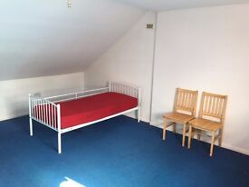 A big double bed room for single person