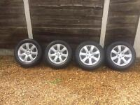 "NEARLY NEW Suzuki, Toyota, Honda, Nissan ""18 Alloy Wheels With Tyres PCD 5x114.3"