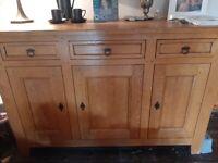 French Oak Sideboard