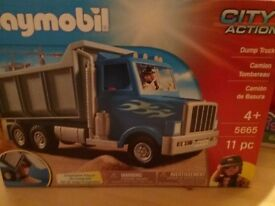 Playmobil city action Dump truck new