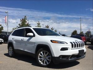 2017 Jeep Cherokee LIMITED**LEATHER**FORMER COMPANY VEHICLE**