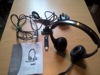 Logitech ClearChat Wireless USB Headphone Headset - BRAND NEW NEVER USED. *Bargain*