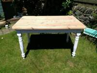 Pine Farmhouse Table