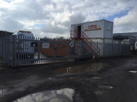 A large self-contained yard to let, approx 7,200 sq ft. Can be used for most trades.