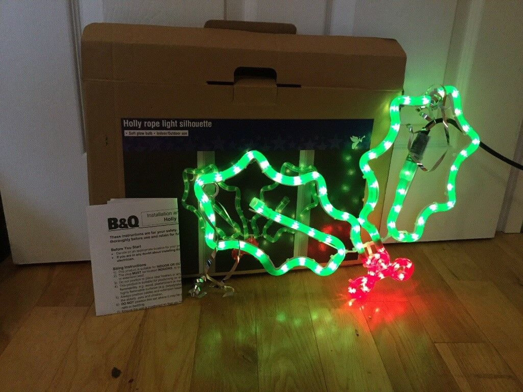 competitive price 02a44 5118e Indoor/outdoor light up holly | in Ipswich, Suffolk | Gumtree