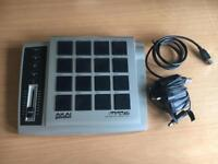Akai MPD 16 + USB lead, power supply & CD