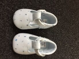 Baby boys shoes from Mamas and Papas 0-3m