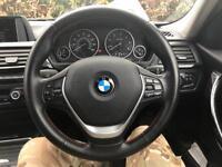 BMW F30 steering wheel ,complete