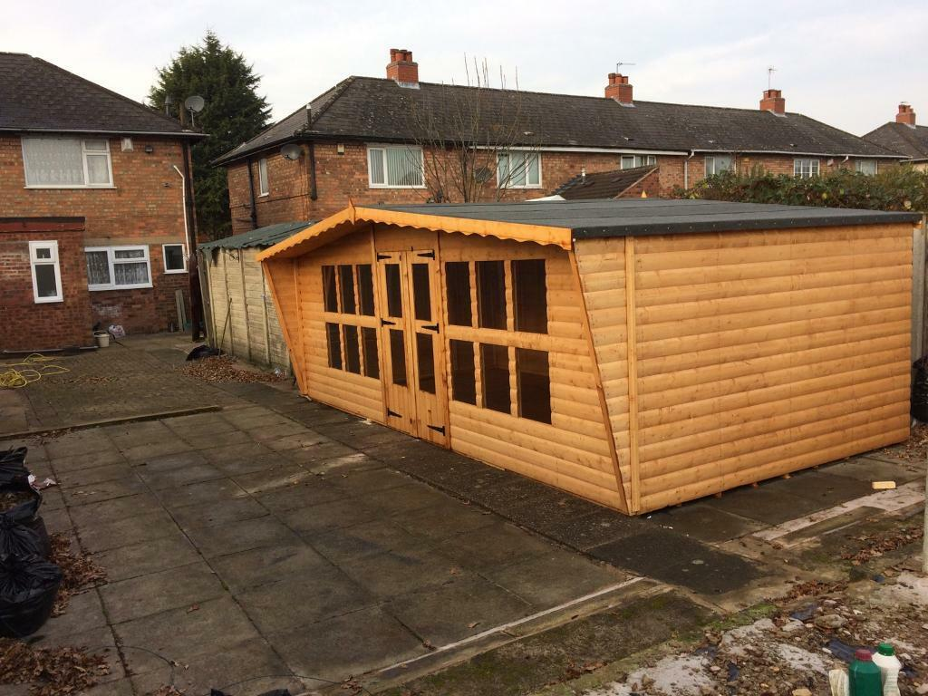 garden sheds for sale glasgow with 1206571956 on 1206571956 together with 562 Outdoor Playhouse For 5 Year Old furthermore  besides Summerhouses additionally 40414034.