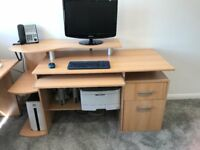 Office Desk with Storage Space