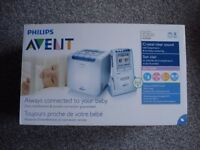 philips advent baby monitor SCD535