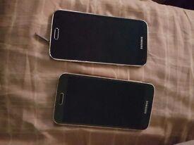 Samsung galaxy S5 × 2