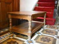 Sturdy Honey Pine Coffee table