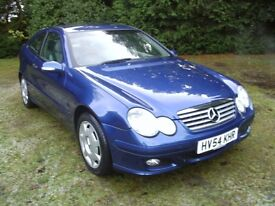 MERCEDES C200 CDI TURBO DIESEL AUTOMATIC COUPE 2004
