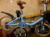 E-bike Hopper, Electric bicycle , folding bike