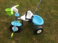 Smartrike kids blue and green trike