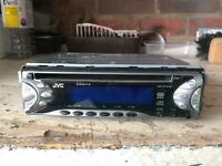 Jvc car stereo CD player
