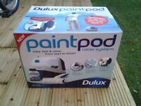 Dulux paint pod roller system used