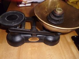 Salter Kitchen Scales with Weights