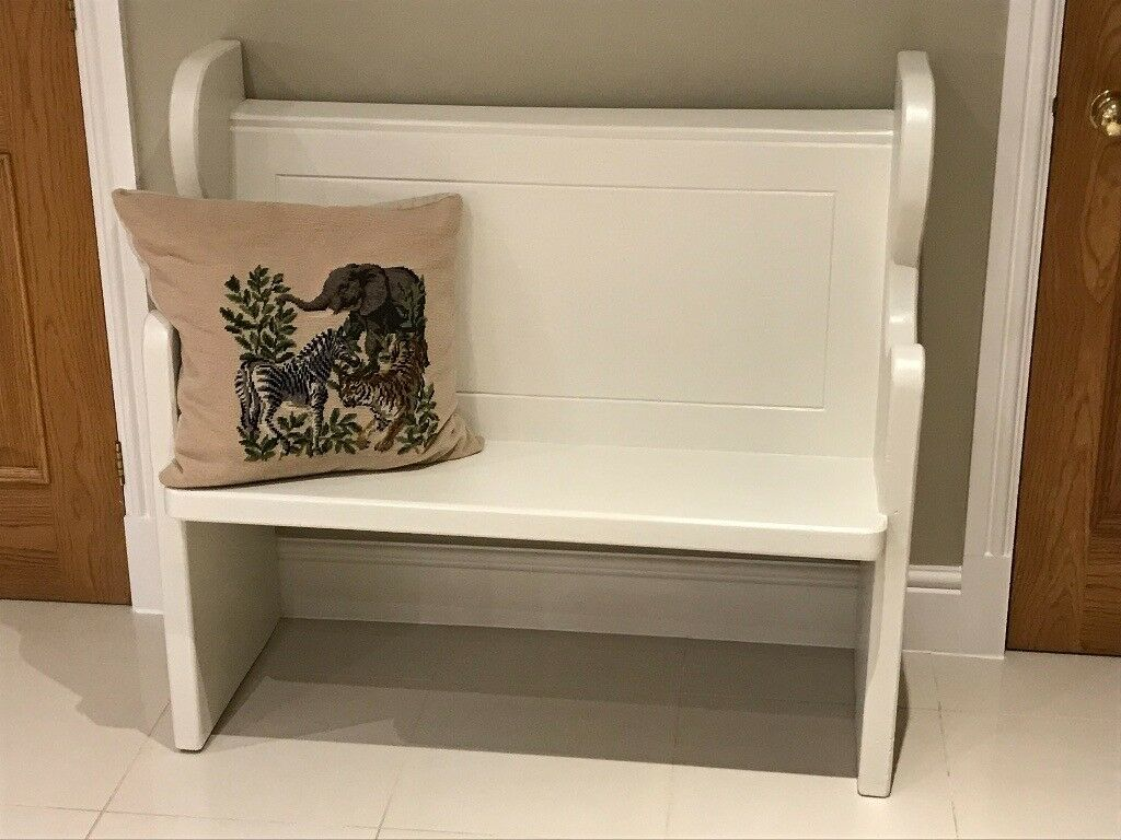 Pine Monks Bench Pew Settle Painted In Farrow Amp Ball S