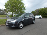 FORD C-MAX 1.6 ZETEC MPV STUNNING GREY NEW SHAPE 2010 ONLY 42K MILES BARGAIN £2795 *LOOK*PX/DELIVERY