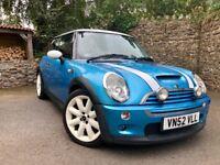 Blue Mini Cooper S