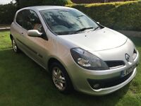 Fantastic Value 21000 Mile 2007 Clio 1.4 Dynamique 3 Dr Hatch Air-Con And Alloys! HPI Clear Low Tax
