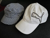 GOLF CAPS IN NEW & MINT CONDITION - £5 EACH - CASH ON COLLECTION ONLY
