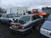 Jaguar x type diesel spare parts available