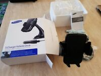 SAMSUNG VEHICLE DOCK HOLDER + 2-PORT CAR CHARGER DISPLAY SIZE 4-5.7""