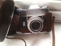 Kodak SLR and Sony hand held video camera