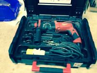 Milwaukee 26mm SDS Plus 3-Mode Hammer Drill PH26X 110 Volt