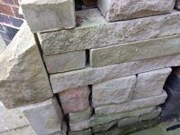 Decorative Building stone, Old Quarry Tiles, Concrete patio Edging