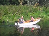 Mirror sailing dinghy - Sail number 64775. Ideal starter boat for sailing/rowing/motoring